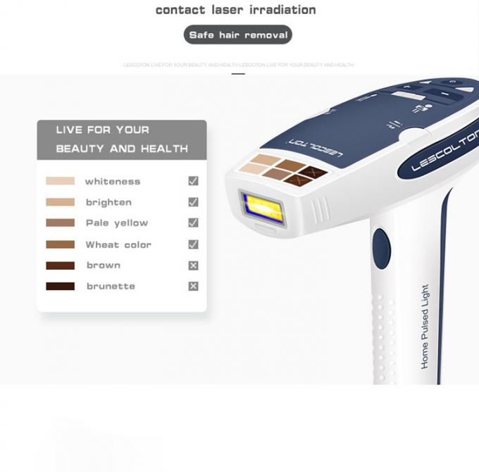 Lescolton T006 Home Laser Hair Removal Machine , Facial Hair Removal Laser Machine