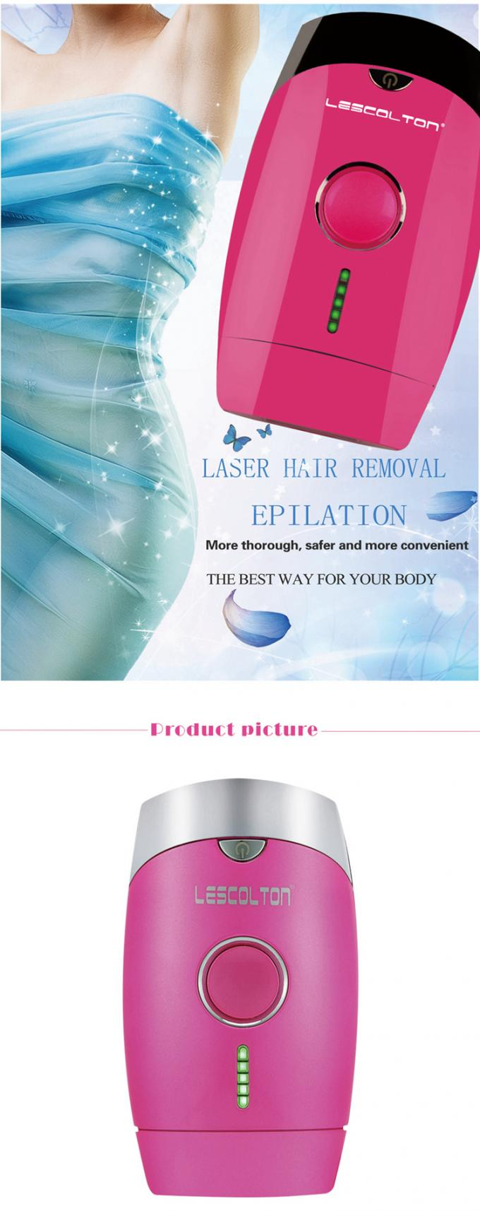 Lescolton T002 Laser Hair Removal Machine For Home Use