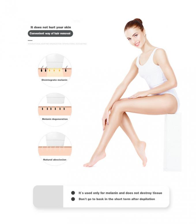 300000 Shots Home Laser Hair Removal Machine With 5 Intensity Modes