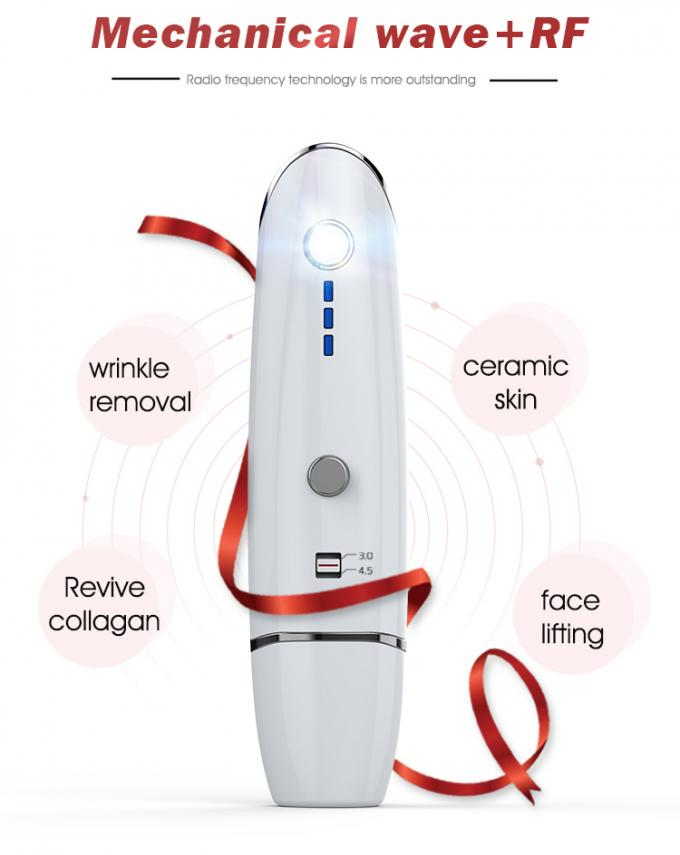 Ultrasonic Radar Line Hifu Portable Machine , V Face Ultrasonic Skin Care Machine