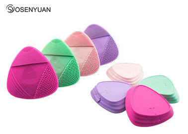 China Waterproof Ultrasonic Facial Cleansing Brush , Silicone Sonic Facial Cleanser supplier