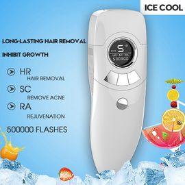 China 3 In1 IPL Portable Laser Hair Removal Machines Epilator Bikini Depilador White Color supplier