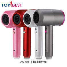 China 4 Colors Hair Salon Home Beauty Machine Strong Wind Electric Hair Blowers Dryer supplier