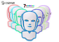7 Colors LED Light Therapy Face Mask SPA Facial Rejuvenation / Anti Eye Wrinkles