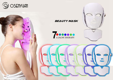 China PDT LED Light Therapy Face Mask , Led Photon Therapy Mask CE ROHS Approved distributor