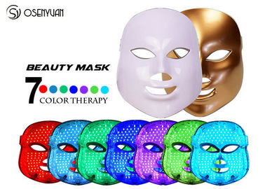 China Fight Acne LED Light Therapy Face Mask 7 Color Photon Led Skin Rejuvenation distributor