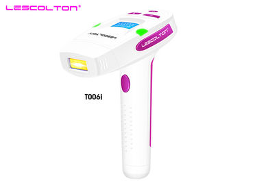 China Electric Ipl Home Permanent Hair Removal Laser Epilator With LCD Display distributor