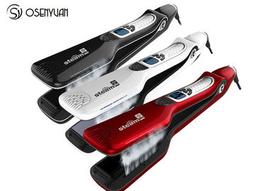 Ionic Steam Flat Iron Hair Straightener Professional Styling With LED Display